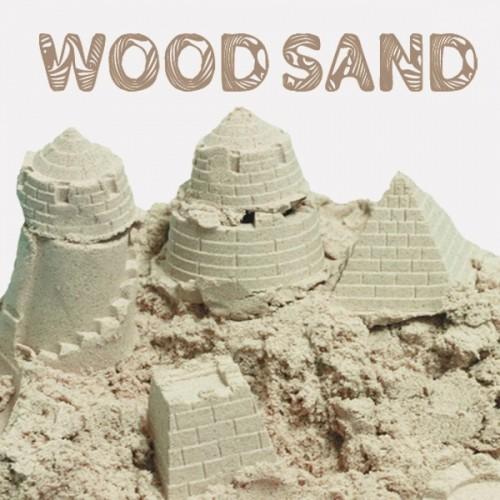 스노우키즈 우드샌드 모래놀이800g 피톤치드 항균 모래놀이