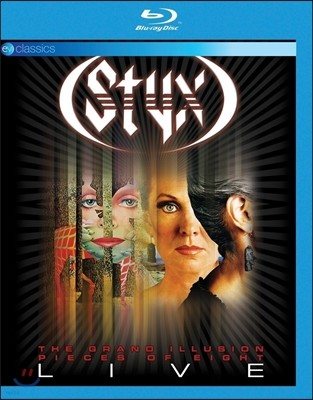 Styx (스틱스) - The Grand Illusion & Pieces Of Eight Live
