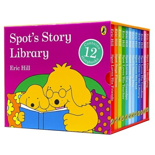 Spot`s Story Library 12 Board Books Set