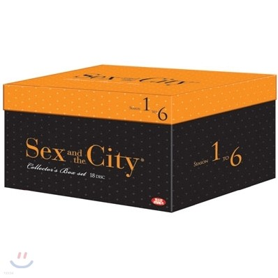 섹스 앤 더 시티 크리스마스 박스 (전 에피소드 수록판, 18disc)