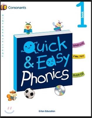 Quick & Easy Phonics 퀵 앤 이지 파닉스 1