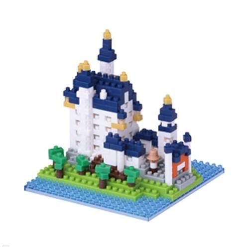 나노블럭 - 노이슈반슈타인성 Schloss Neuschwanstein NBH-010
