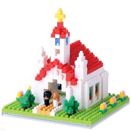 나노블럭 - 교회 CHURCH (440pcs) NBH-087