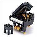나노블럭 - 그랜드피아노 GRAND PIANO (150pcs) NBC-017
