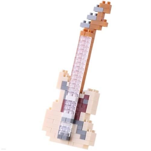 나노블럭 - 일렉기타 아이보리 Electric Guitar Ivory (130pcs) NBC-147
