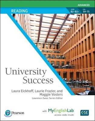 University Success Reading Advanced
