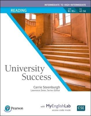 University Success Reading Intermediate to High-Intermediate