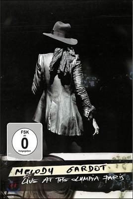 Melody Gardot - Live At The Olympia Paris 멜로디 가로트 2016년 10월 파리 올림피아 라이브 실황 DVD