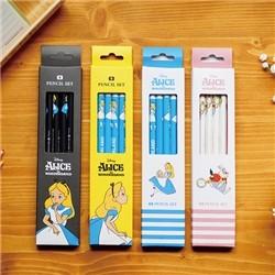 앨리스 4본 연필세트