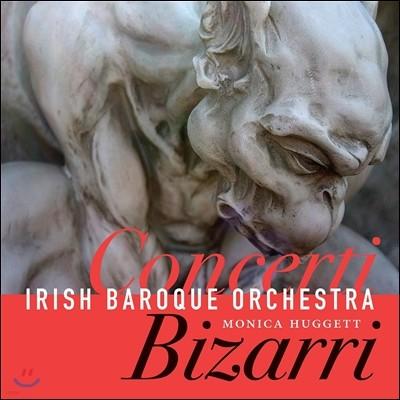 Monica Huggett 18세기 협주곡집 - 텔레만 / 비발디 / 그라우프너 / 파슈 / 하이니헨 (Concerti Bizarri - Fasch / Telemann / Heinichen / Vivaldi / Graupner) 모니카 허젯