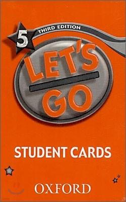 [3판]Let's Go 5 : Student Cards