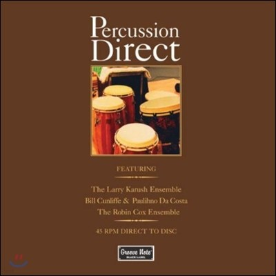 Larry Karush Ensemble / Bill Cunliffe (래리 카르슈 퍼커션, 빌 컨리프) - Percussion Direct [Vinyl]