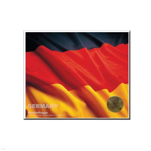 코인포스트카드(독일국기) 10 EURO CENT동전용