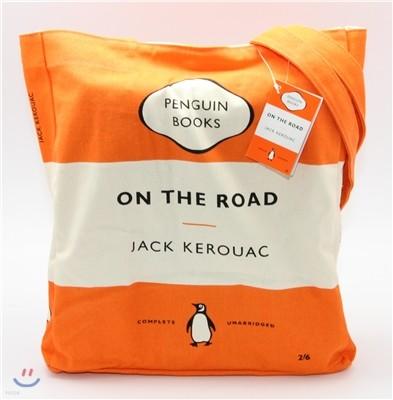 Penguin Tote Bag : On the Road (Orange)