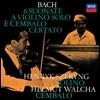 Henryk Szeryng / Helmut Walcha 헨릭 셰링 & 헬무트 발햐 - 바흐: 바이올린과 하프시코드를 위한 6개의 소나타 (J.S. Bach: 6 Sonatas for Violin & Harpsichord BWV1014-1019)