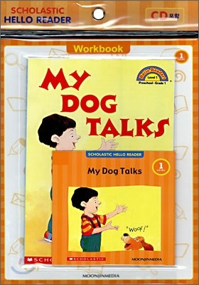 Scholastic Hello Reader Level 1-37 : My Dog Talks (Book+CD+Workbook Set)