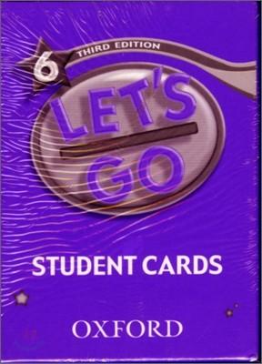 [3판]Let's Go 6 : Student Cards