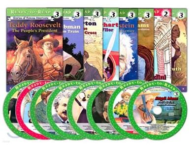Ready-To-Read Level 2~3 Set : SOFA 영어위인전 리더스 8종 세트 (Book + CD)