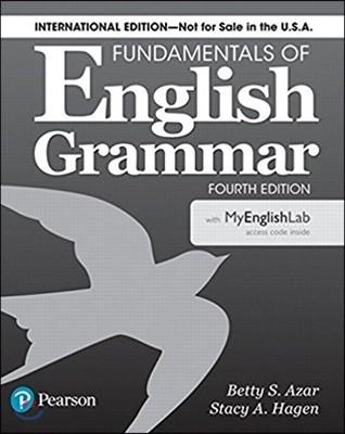 Fundamentals Of English Grammar : Student Book + MyLab English, 4/E