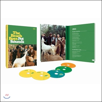 The Beach Boys (비치 보이스) - Pet Sounds [50th Anniversary Deluxe Edition]