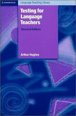 Testing for Language Teachers, 2/E