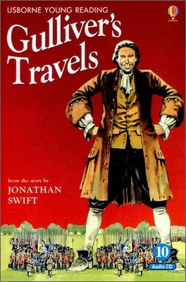 Usborne Young Reading Audio Set Level 2-10 : Gulliver's Travels (Book & CD)