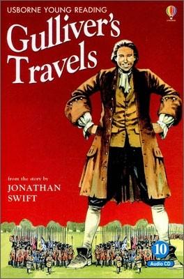 Usborne Young Reading Audio Set Level 2-10 : Gulliver's Travels (Book & CD)
