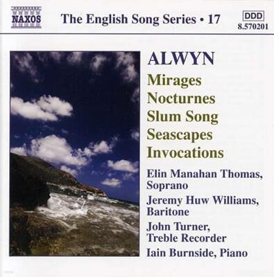 Elin Manahan Thomas 윌리엄 올윈: 연가곡 (William Alwyn: Mirages, Nocturnes(
