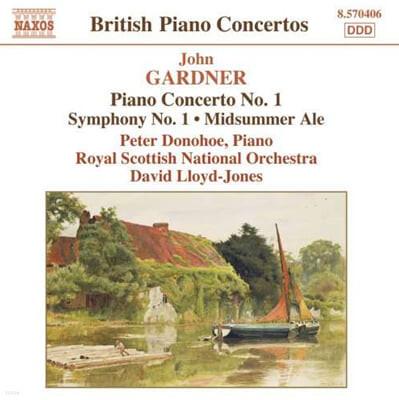 가드너 : 피아노 협주곡 1번, 교향곡 1번 외
