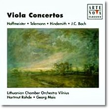 호프마이스터/J.C.바흐 : 비올라 협주곡 - Hartmut Rohde