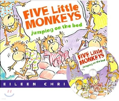 [노부영]Five Little Monkeys Jumping on the Bed (원서 & 노부영 부록 CD)