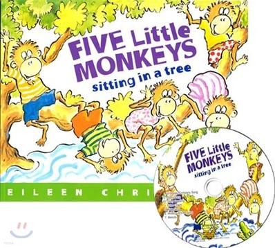 [노부영]Five Little Monkeys Sitting in a Tree (원서 & 노부영 부록 CD)