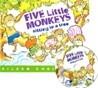 [��ο�]Five Little Monkeys Sitting in a Tree (Paperback & CD Set)