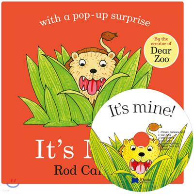 [노부영]It's Mine! (Board Book & CD Set)