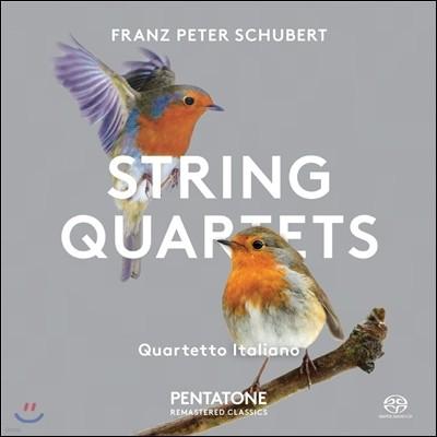 Quartetto Italiano 슈베르트: 현악 사중주 13번 '로자문데', 10번 - 이탈리아 사중주단 (Schubert: String Quartets D.804 'Rosamunde', D.87)
