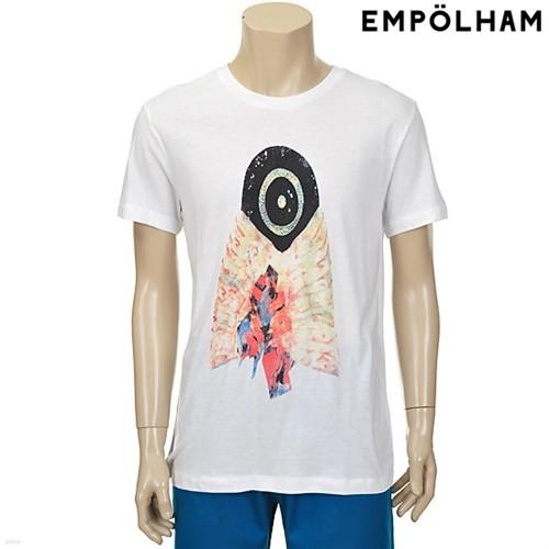 남성 미스틱 드로잉 라운드 티셔츠 WT (ES2M353)