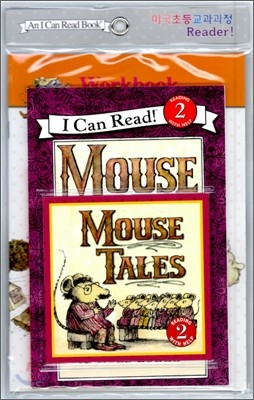 [I Can Read] Level 2-11 : Mouse Tales (Workbook Set)