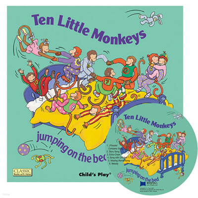 [노부영 세이펜]Ten Little Monkeys Jumping on the Bed (Paperback & CD Set)