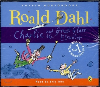 Charlie and the Great Glass Elevator (Audio CD)