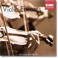 V.A - Violin Encores (2CD/미개봉/ekc2d0451)