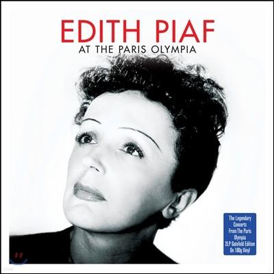 Edith Piaf (에디트 피아프) - At The Paris Olympia (1958, 61, 62년 파리 올림피아 콘서트) [2 LP]