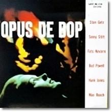 Stan Getz, Stitt, Parker, Roach, Navarro - Opus De Bop (LP Sleeve/일본수입)