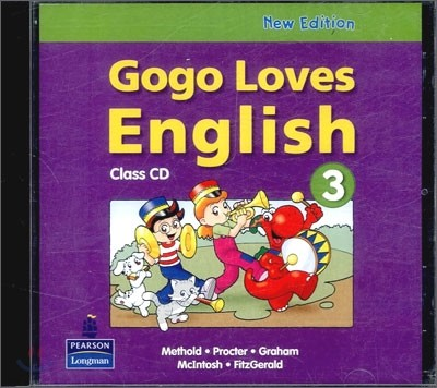 Gogo Loves English 3 : Class CD (New Edition)