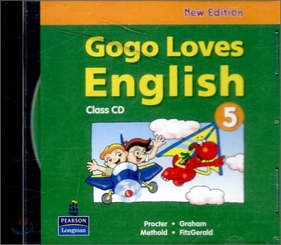 Gogo Loves English 5 : Class CD (New Edition)