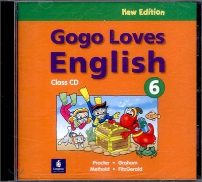 Gogo Loves English 6 : Class CD (New Edition)