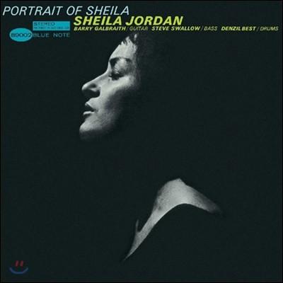Sheila Jordan (쉴라 조던) - Portrait Of Sheila [LP]