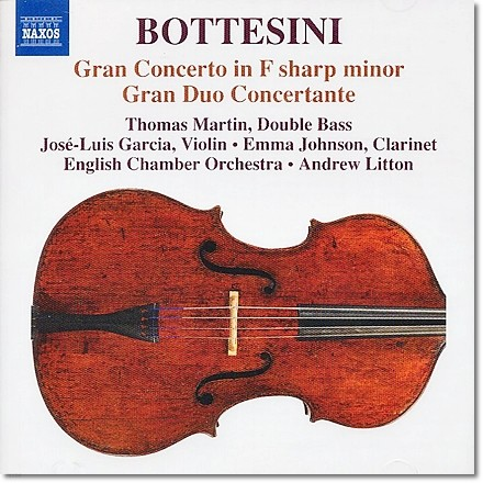 Thomas Martin 보테시니: 바이올린과 더블베이스를 위한 그랑 듀오 콘체르토 (Giovanni Bottesini: Gran duo concertante)