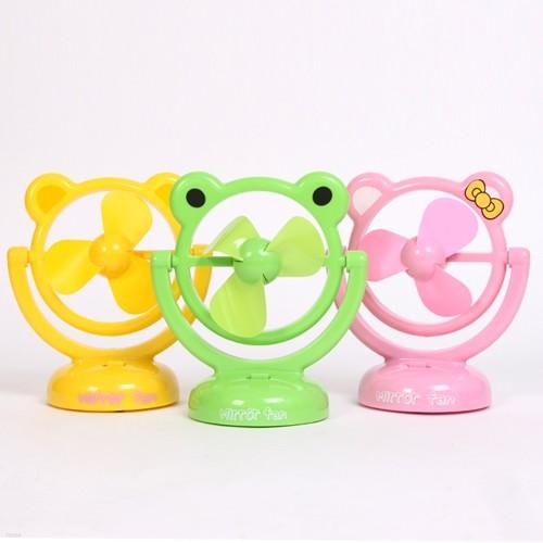 개구리와 친구들 USB 미니선풍기 (건전지겸용)