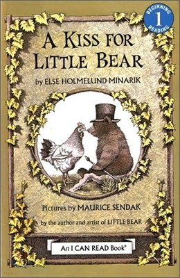 [I Can Read] Level 1 : A Kiss for Little Bear