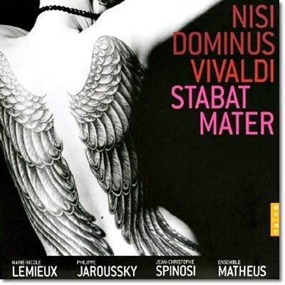 Philippe Jaroussky / Marie-Nicole Lemieux 비발디: 디시 도미누스, 스타바트 마테르 (Vivaldi: Disi Dominus, Stabat Mater)